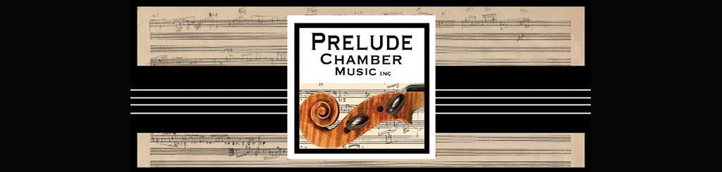Prelude Chamber Music banner logo