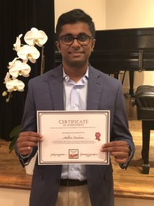 Aadhivan Sarang Ramkumar, 1st Prize Winner of the Young Composers Competition, Prelude Chamber Music Festival 2021
